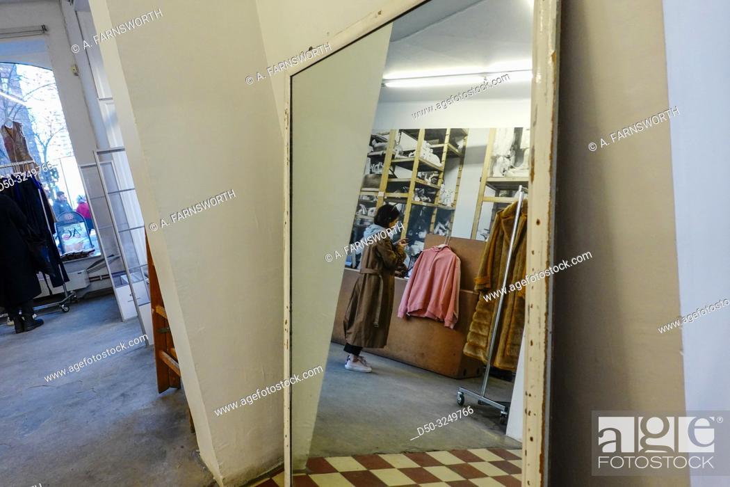 Stock Photo: Stockholm, Sweden The Acne studios store on Torsgatan.