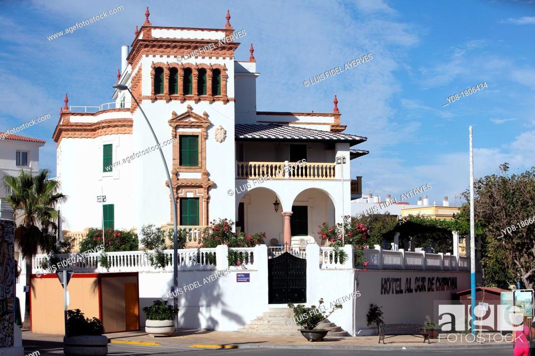 Stock Photo: South of Chipiona Hotel, Cadiz, Andalucia, Spain, Europe.