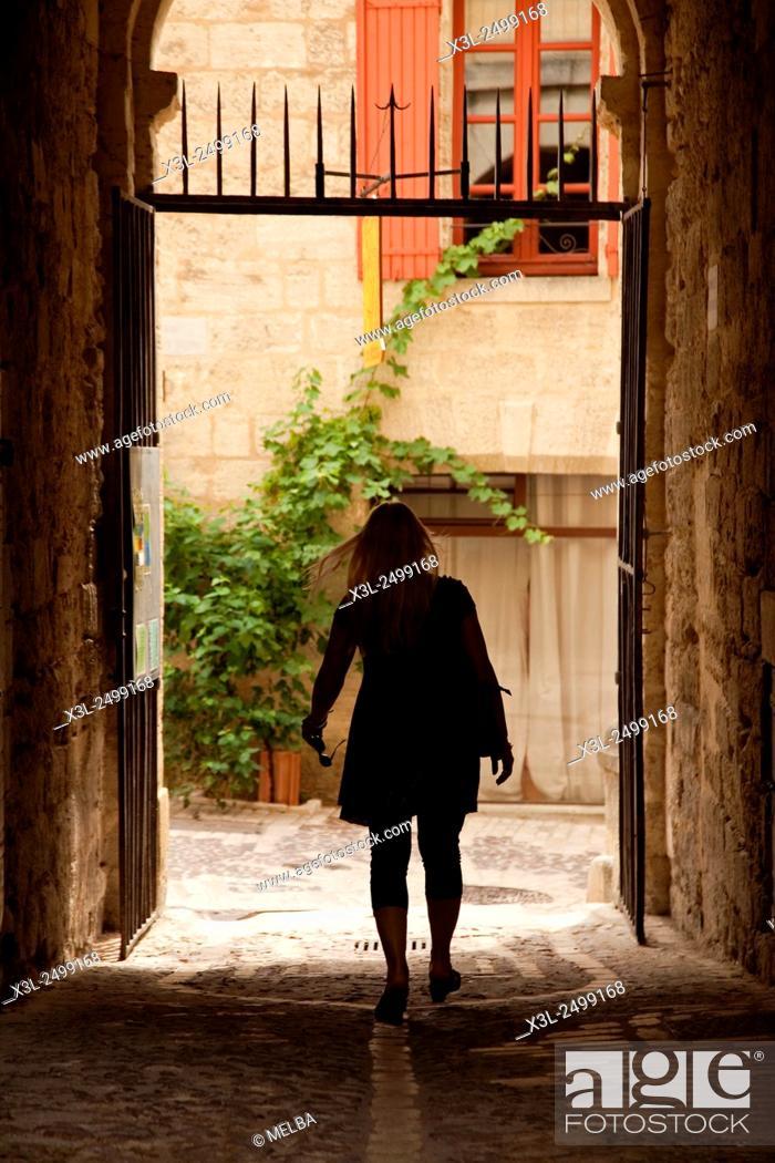 Stock Photo: Uzès. Gard. Languedoc-Roussillon. France.
