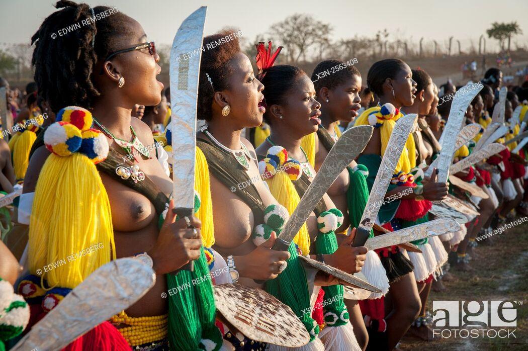 Swaziland women topless — 10