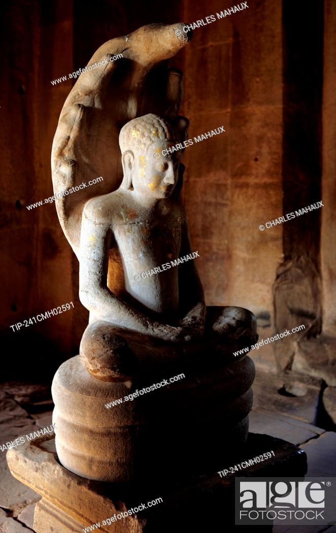 Stock Photo: Phimai Khmer Sanctuary, Nakhon Ratchasima province, Thailand.