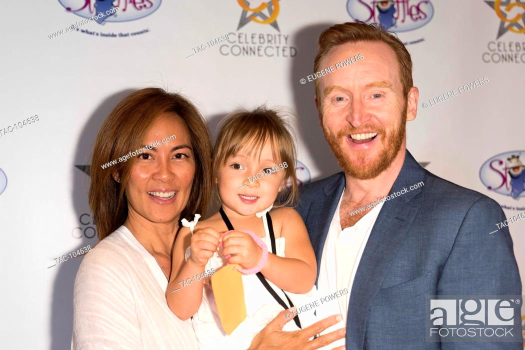 Stock Photo: Tony Curran with family at Celebrity Connected 2016 Luxury Gifting Suite red carpet honoring The Emmys® at the W Hotel Hollywood on September 17.