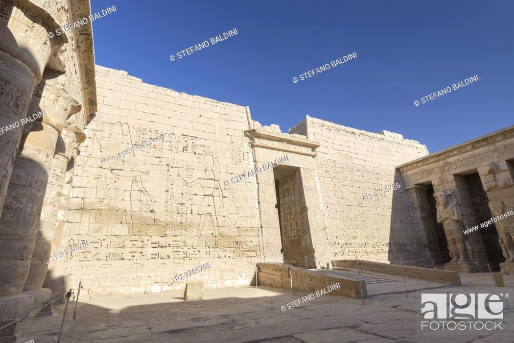 Imagen: Medinat Habu temple, Luxor, Egypt.