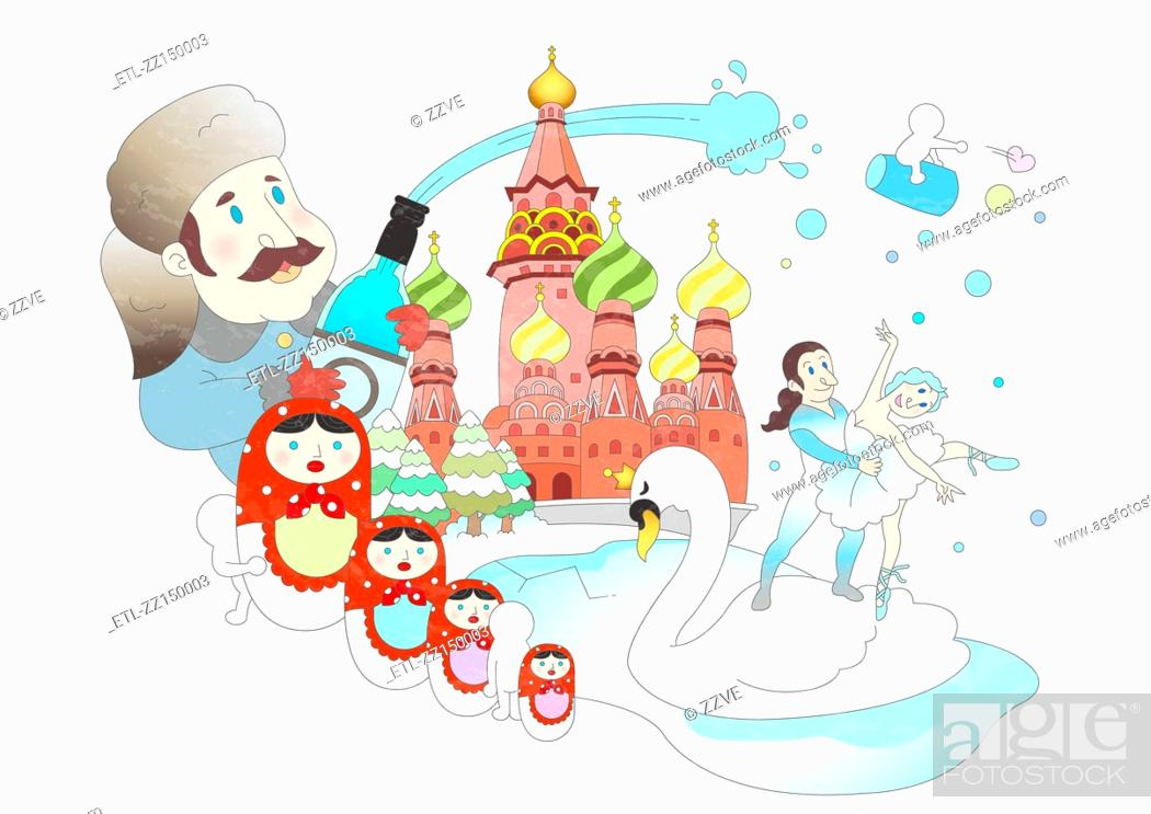 Stock Photo: Attractions of Russia.