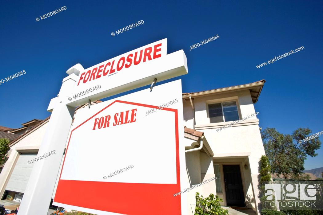 Stock Photo: House for sale.