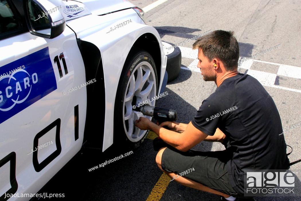 Stock Photo: T. Bjork, Hyundai i30 N TCR #11, WTCR Race of Portugal 2018, Vila Real.