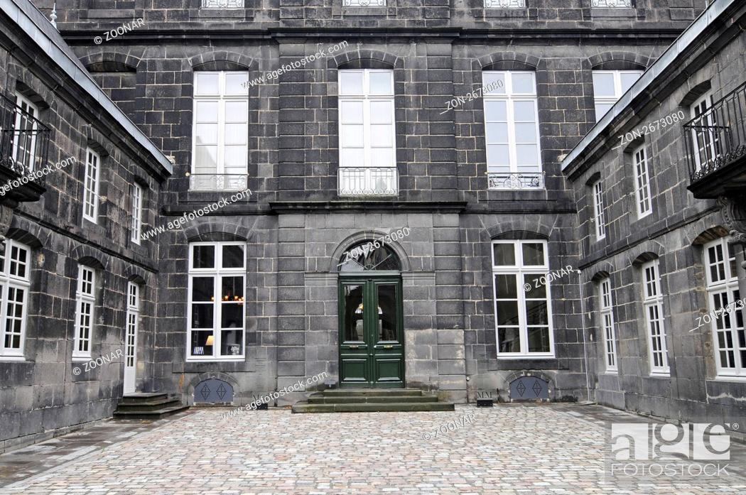Imagen: Musee Mandet, museum of fine arts, Riom, Region Auvergne, France, Europe, Musee Mandet, Museum der Kuenste, Riom, Region Auvergne, Frankreich, Europah.