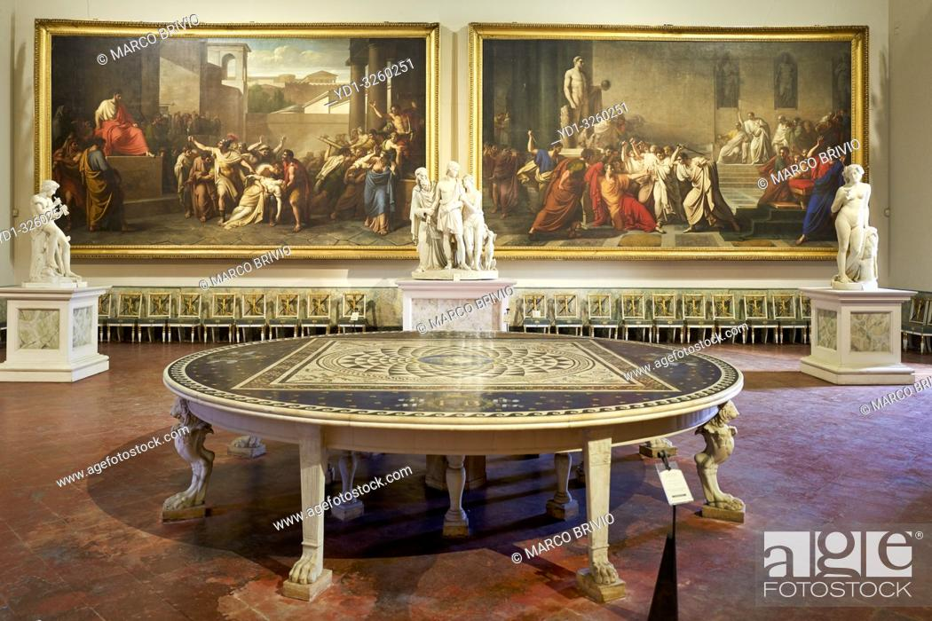 Stock Photo: Naples Campania Italy. Museo di Capodimonte is an art museum located in the Palace of Capodimonte, a grand Bourbon palazzo in Naples, Italy.