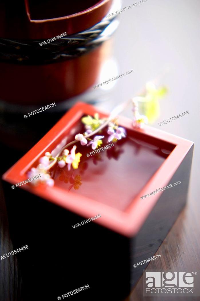 Stock Photo: Sake.