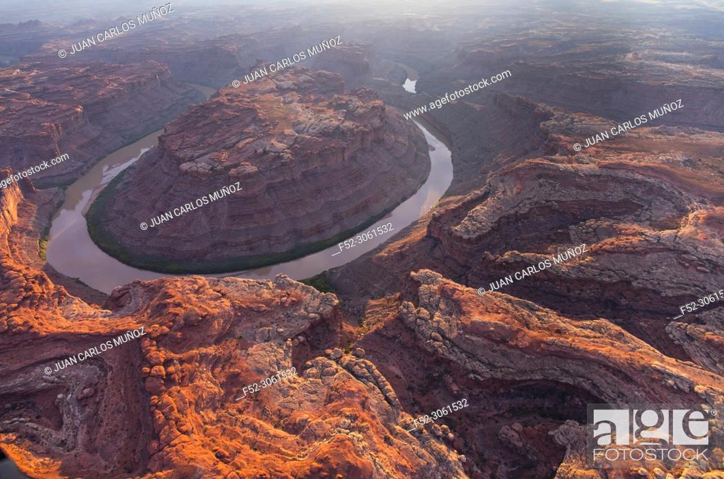 Stock Photo: Colorado river, Canyonlands National Park, Utah, USA, America.