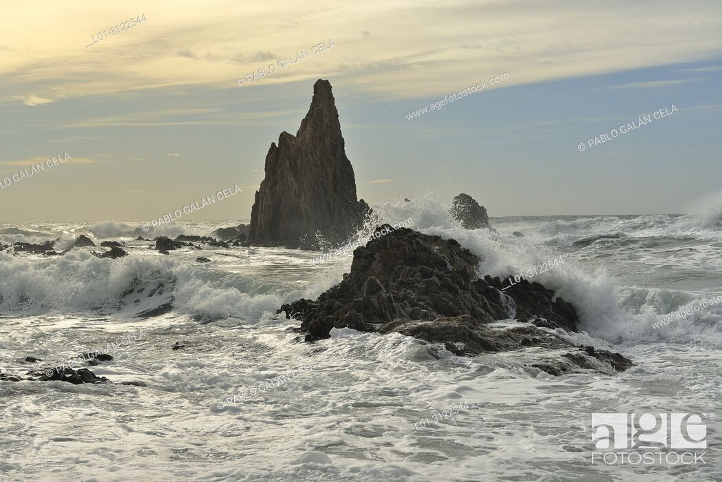 Imagen: Arrecife de las Sirenas. Cabo de Gata. Almeria province, Andalusia, Spain.