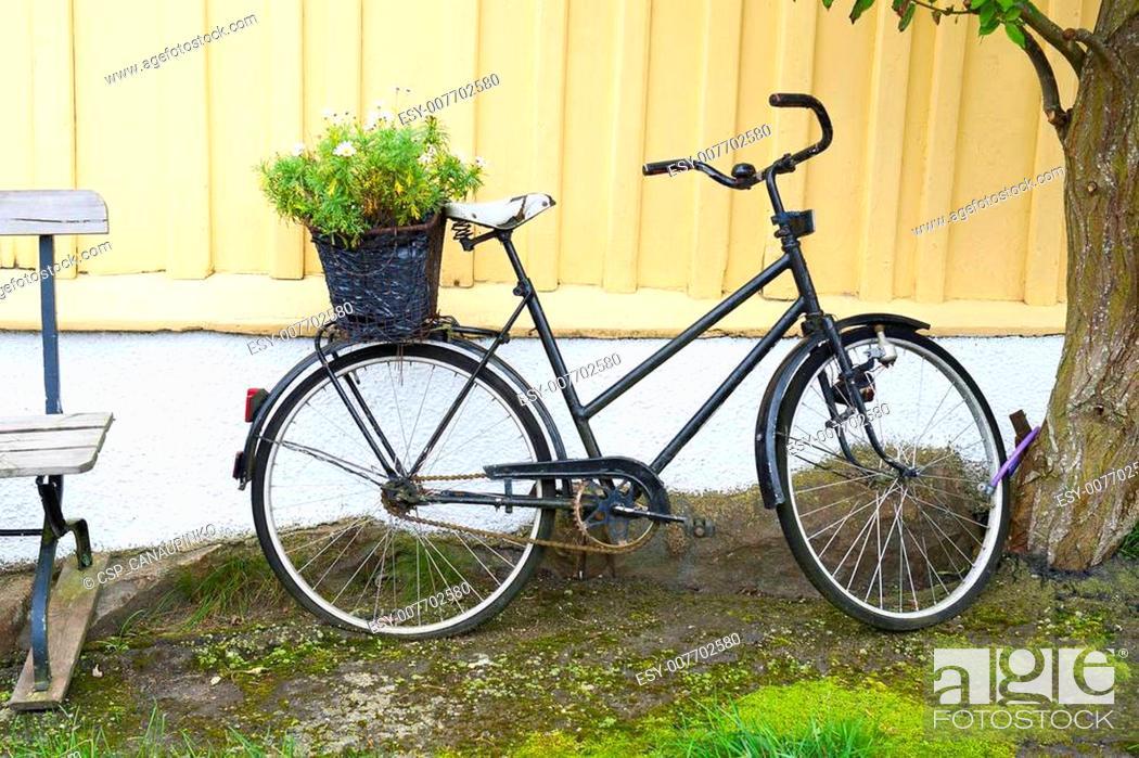 Stock Photo: Scandinavian bicycle.