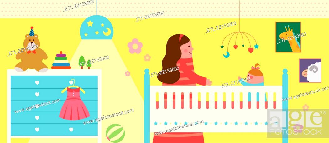 Stock Photo: My baby room.