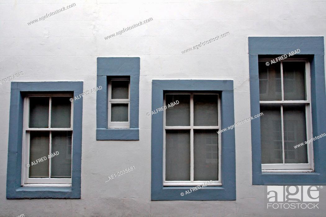 Stock Photo: Windows, St. Andrews, Scotland, UK.