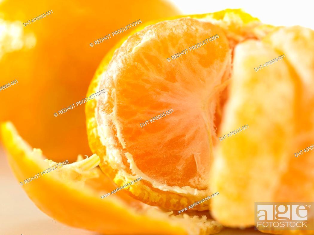 Stock Photo: Food, Fruit, Satsuma.
