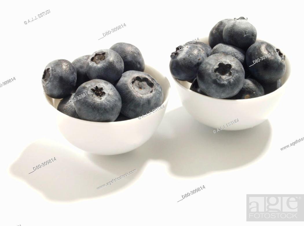 Stock Photo: Blueberries.