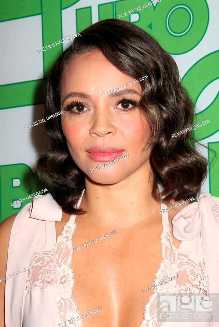 Imagen: Carmen Ejogo 01/06/2019 The 76th Annual Golden Globe Awards HBO After Party held at the Circa 55 Restaurant at The Beverly Hilton in Beverly Hills.