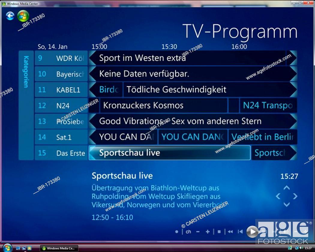 tv guide for windows 10