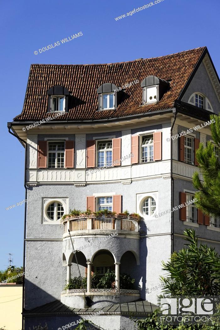 Imagen: Historic house in Bolzano, Italy.