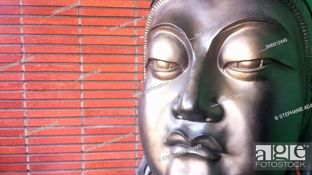 Photo de stock: Buddha Face.