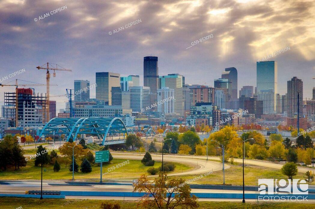Stock Photo: USA, Colorado, Denver.