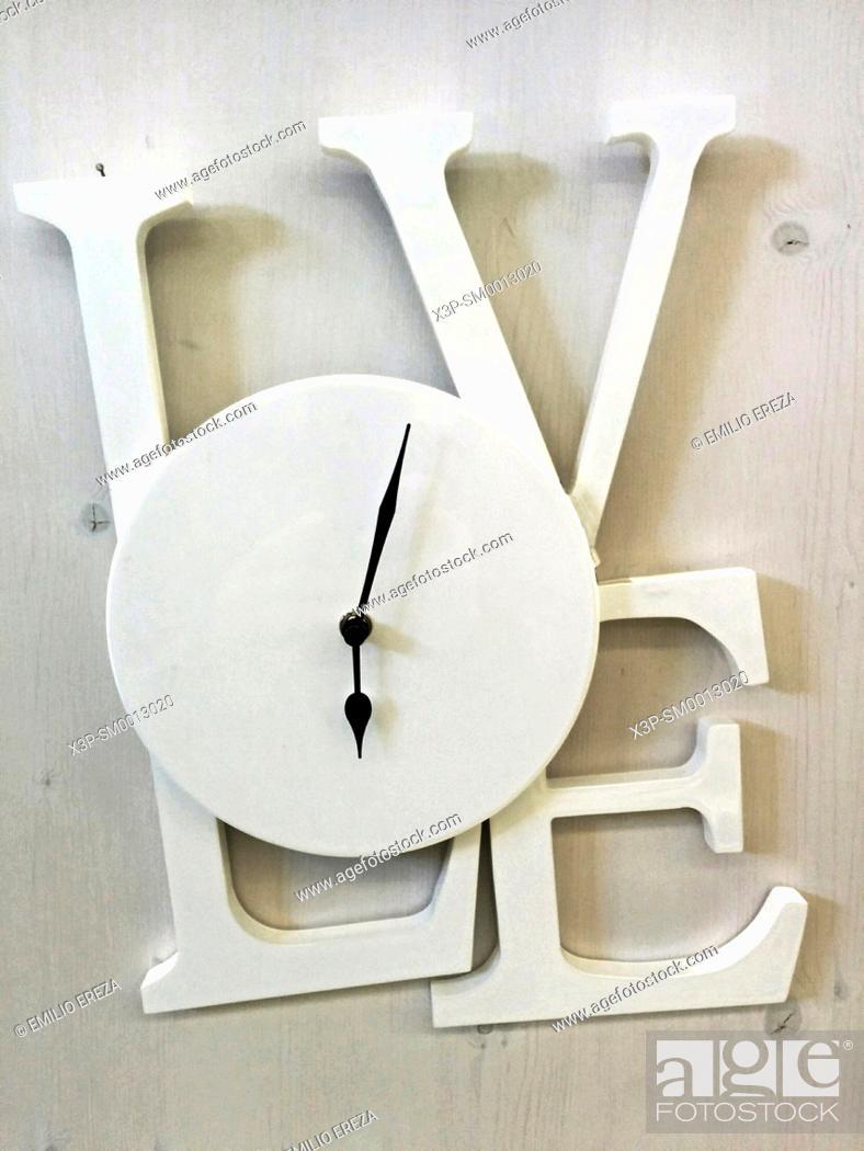 Stock Photo: Love clock.