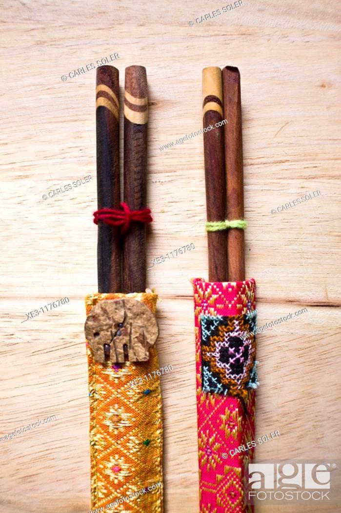 Stock Photo: Chopsticks.