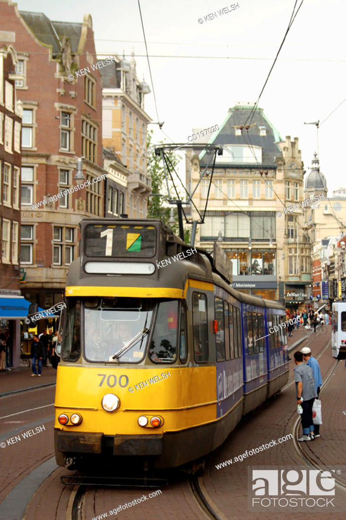 Stock Photo: Leidsestraat. Amsterdam. Holland.