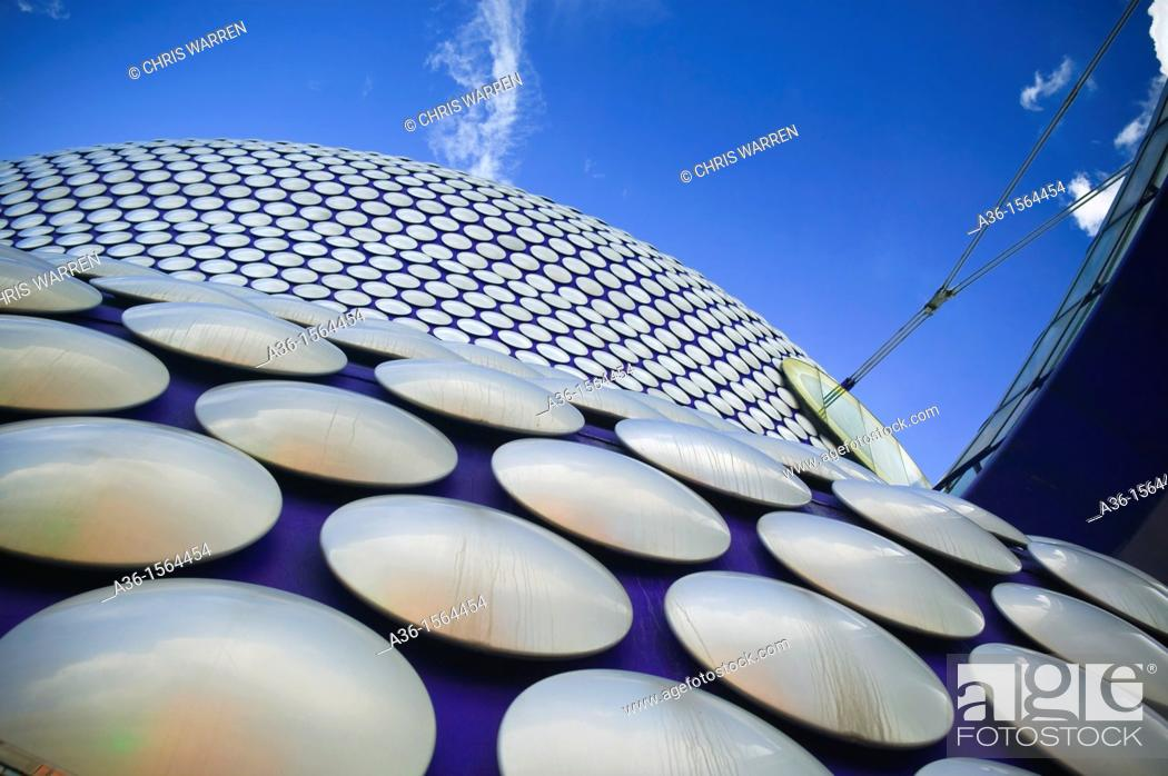 Stock Photo: selfridges building, bull ring shopping mall, Birmingham, West Midlands, England.