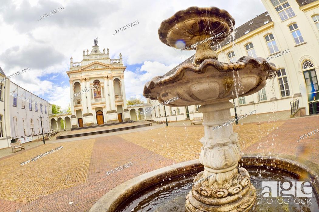 Photo de stock: Chapel Saint Louis, Oudenbosch, Holland, Netherlands, Europe.