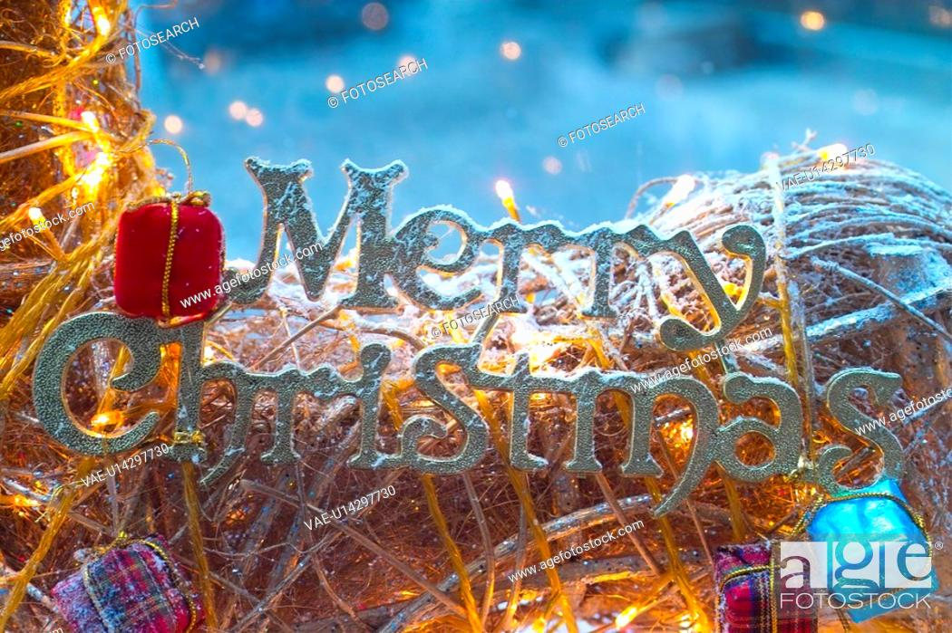 Stock Photo: decoration, merrychristmas, holiday, Christmas, seasons, Christmas decoration, christmas.