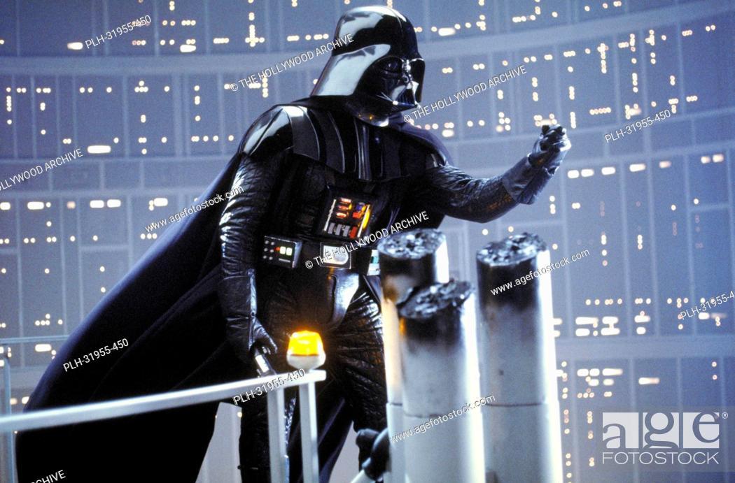 Stock Photo: David Prowse Star Wars Episode V: The Empire Strikes Back 1980.