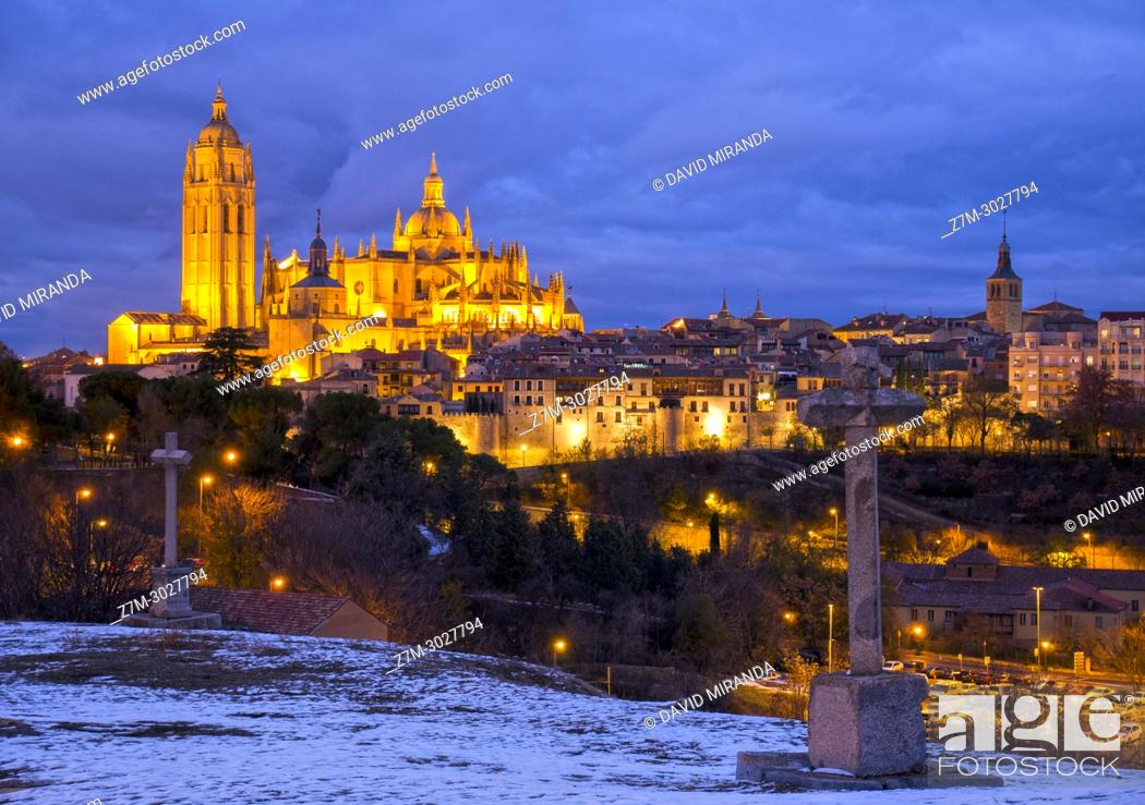 Imagen: Catedral de Segovia. Castile-Leon, Spain.
