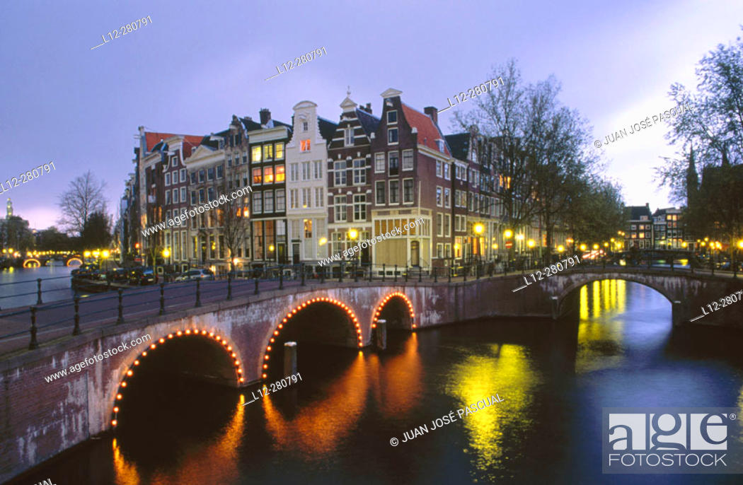 Stock Photo: Keizersgracht. Amsterdam. Holland.