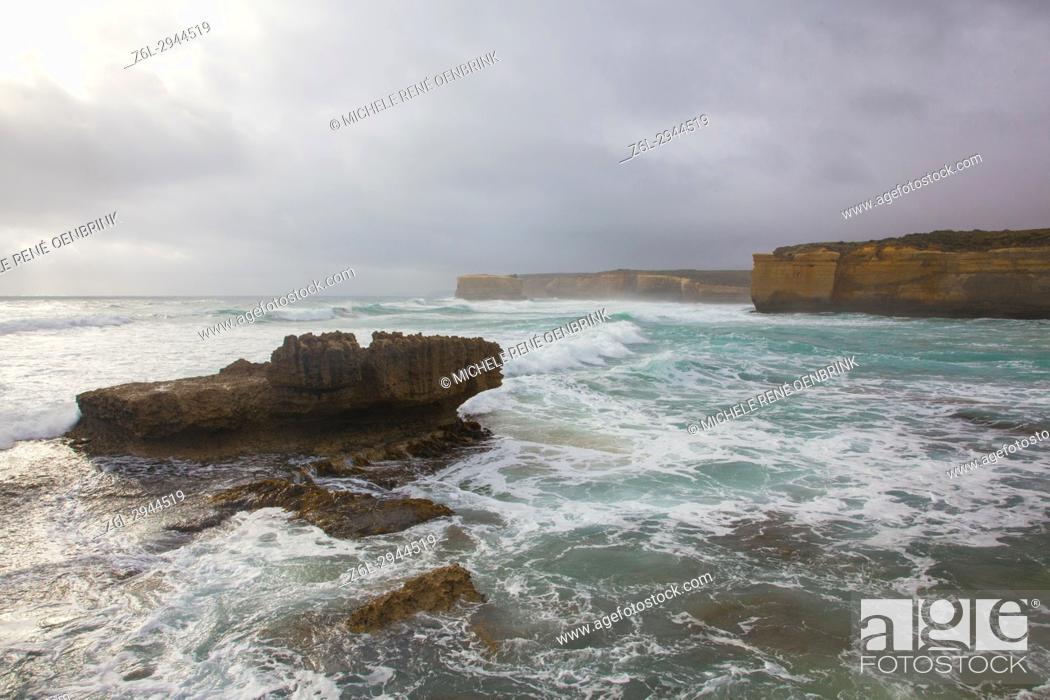 Stock Photo: Great Ocean Road, Victoria, Australia.