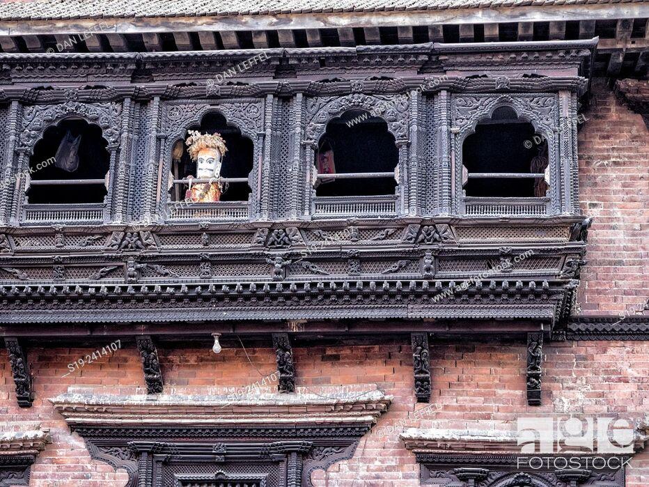 Stock Photo: Bhaktapur, Nepal.