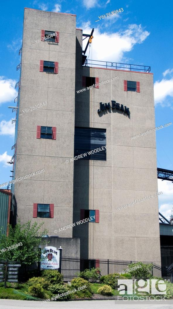 jim beam distillery clermont kentucky usa stock photo picture and