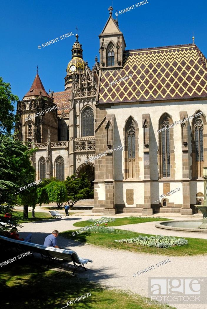 Imagen: chapel of St  Michael and St  Elizabeth Dome in the historic old town of Kosice, Slovakia.