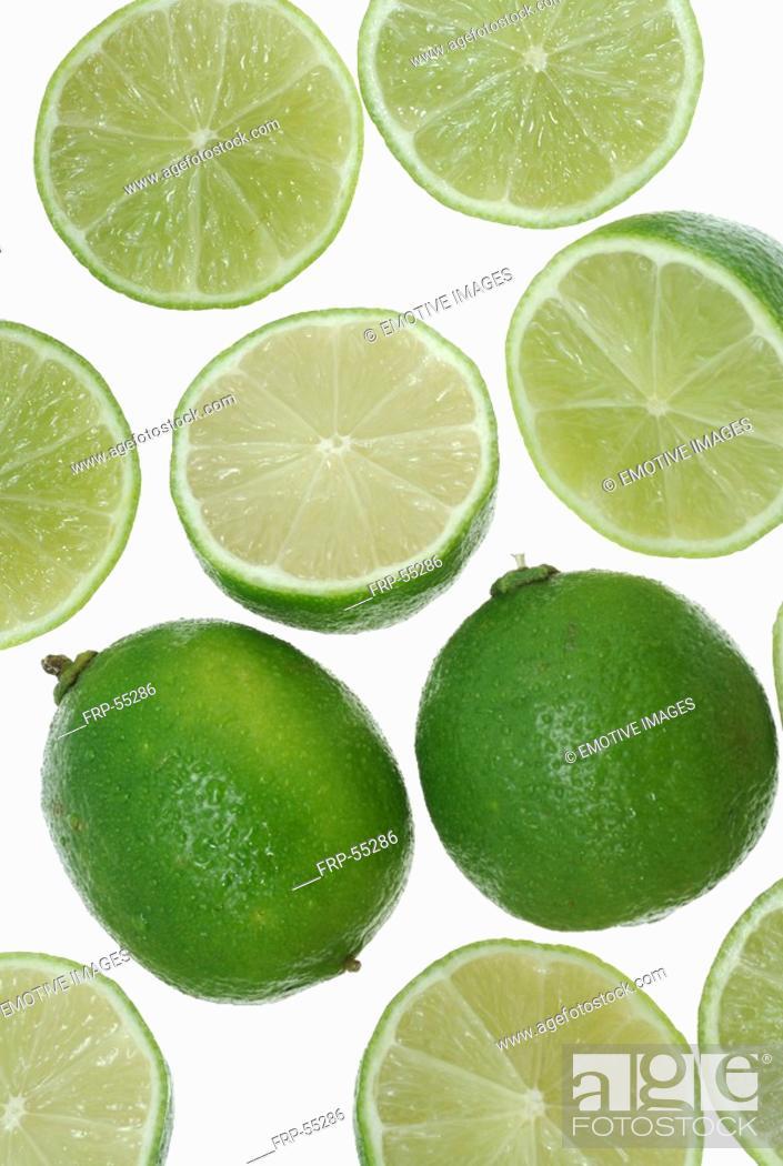 Stock Photo: Limes.