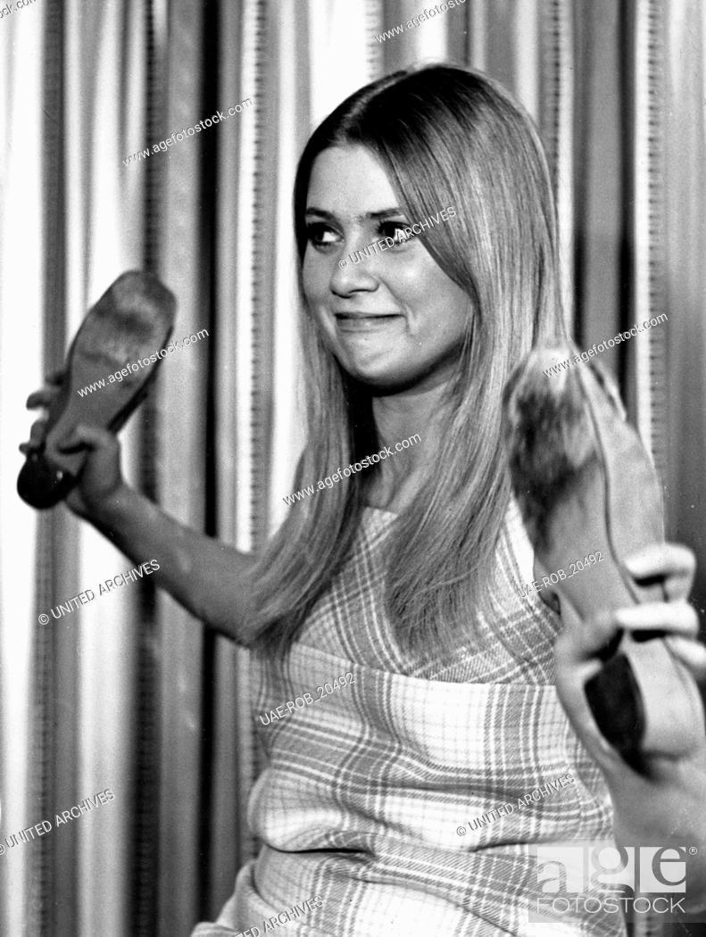 Imagen: Die dänische Schauspielerin und Sängerin Gitte Haenning, Deutschland 1960er Jahre. Danish actress and singer Gitte Haenning, Germany 1960s.