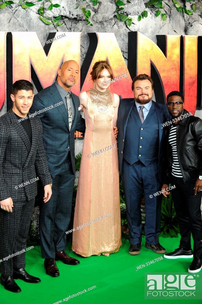 Jumanji Welcome To The Jungle U K Premiere Arrivals
