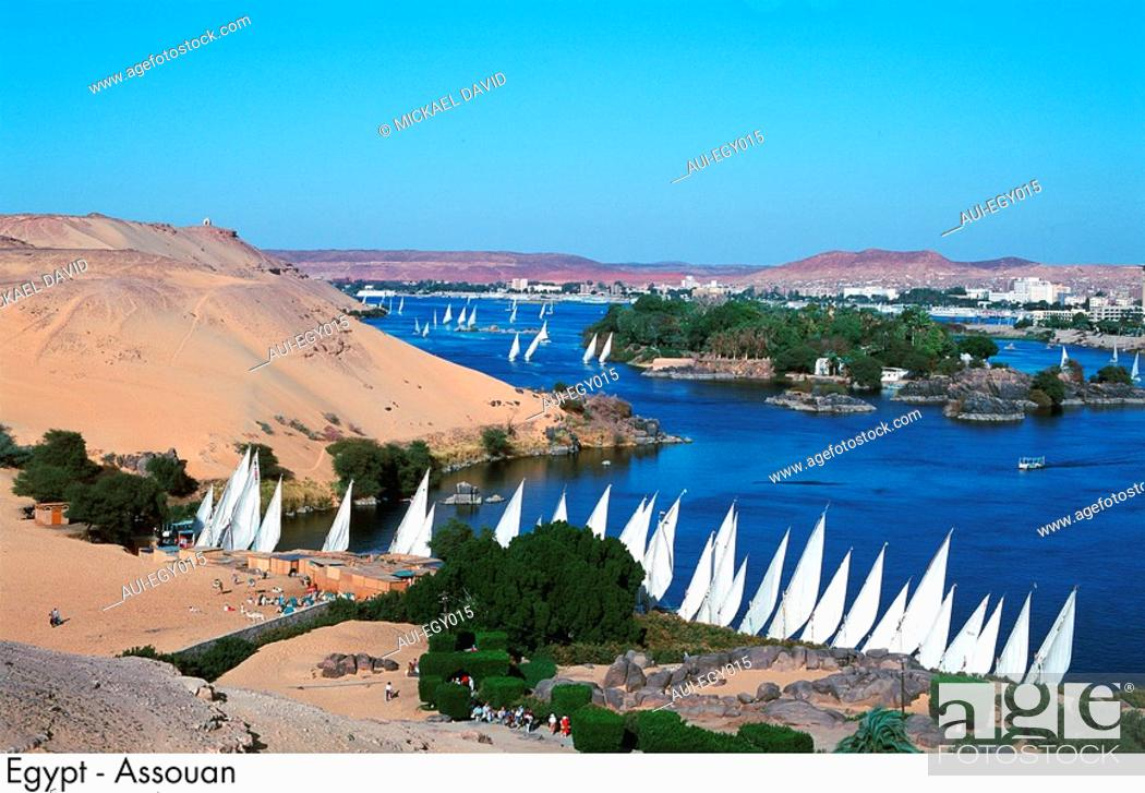 Stock Photo: Egypt - Aswan.