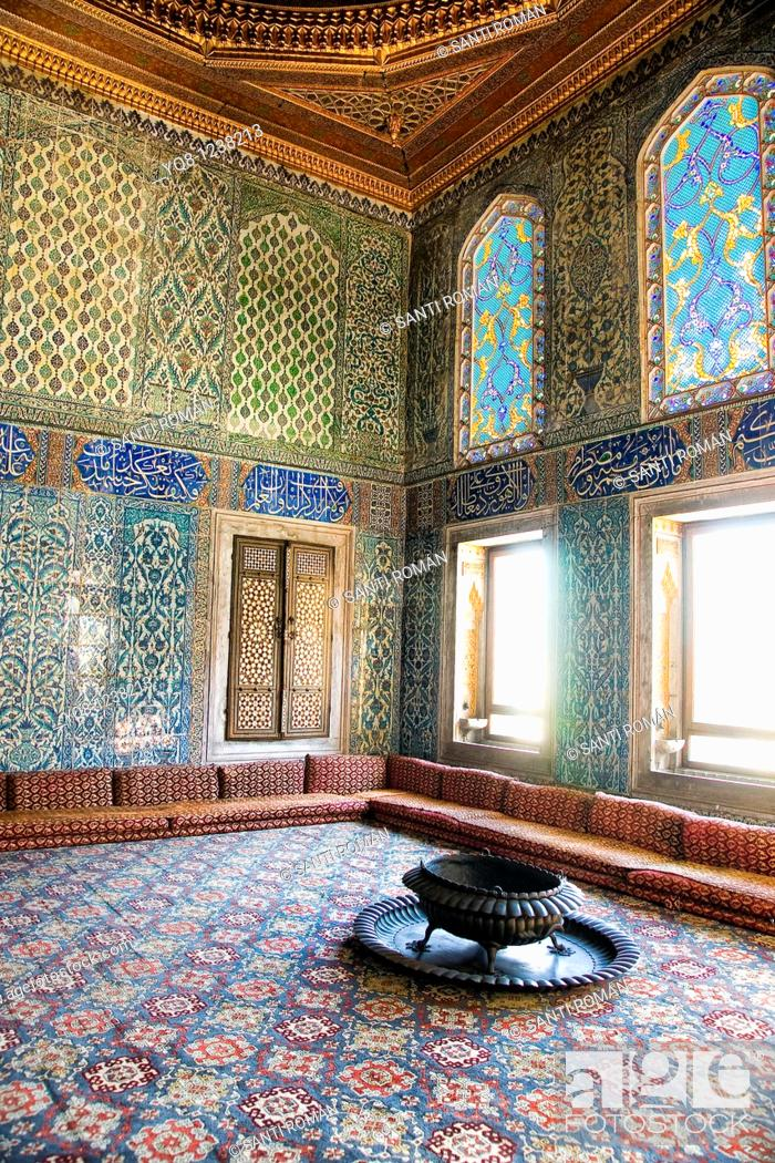 Stock Photo The Harem And Sultan S Private Apartments Topkapi Palace Museum Istanbul Turkey