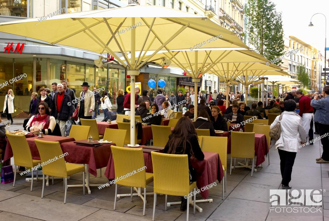 Aroma Coffee Shops Wien Austria Stock Photo Picture And