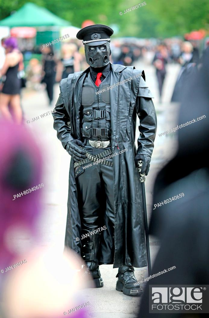 Thomas From Chemnitz C At The Wave Gotik Treffen Wgt In Leipzig Germany 13 May 2016 Stock Photo Picture And Rights Managed Image Pic Pah 80340659 Agefotostock