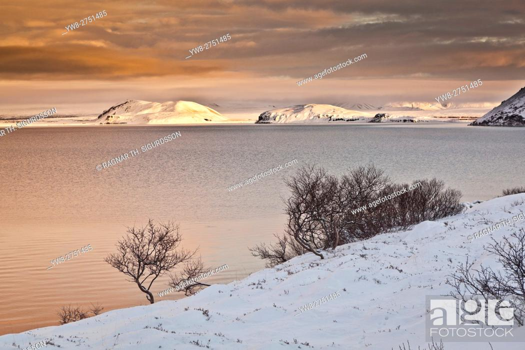 Stock Photo: Lake Thingvallavatn, Thingvellir National Park, Iceland.