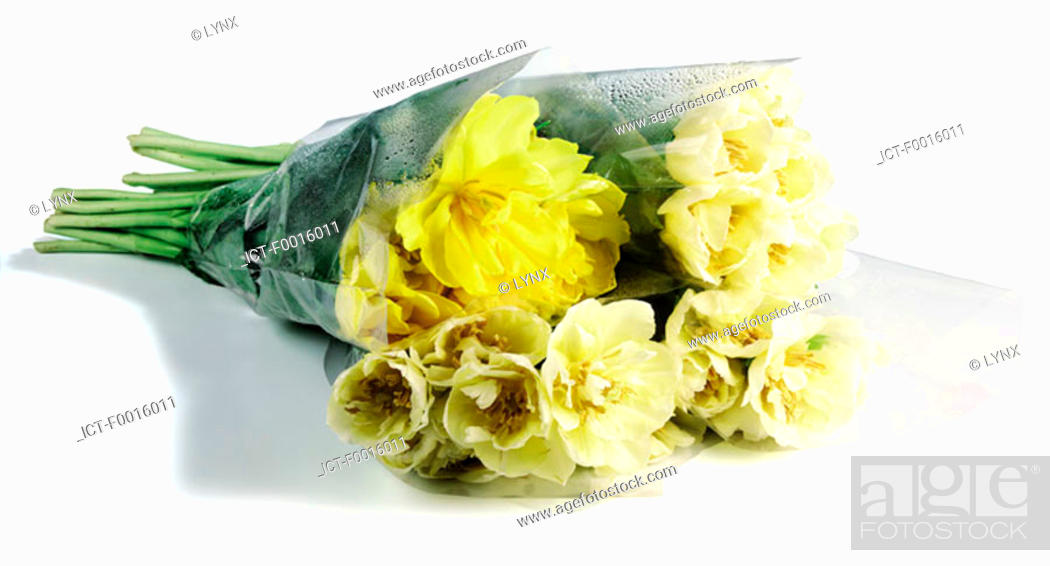 Stock Photo: Yellow bouquet.