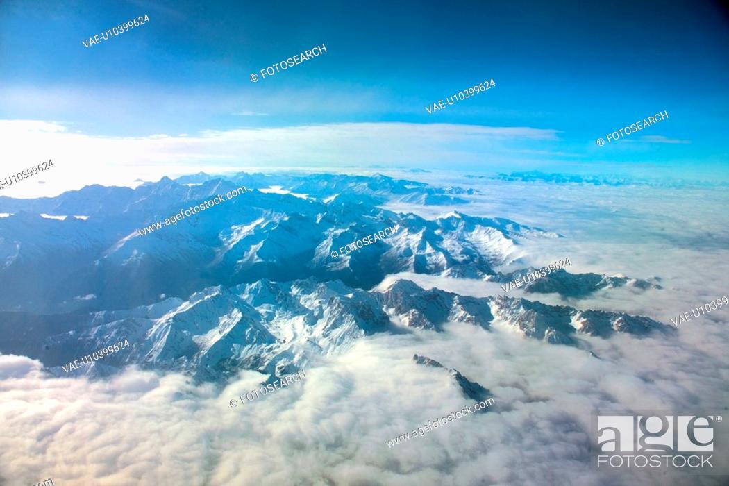 Stock Photo: nature, scenery, sky, mountain, landscape, cloud.