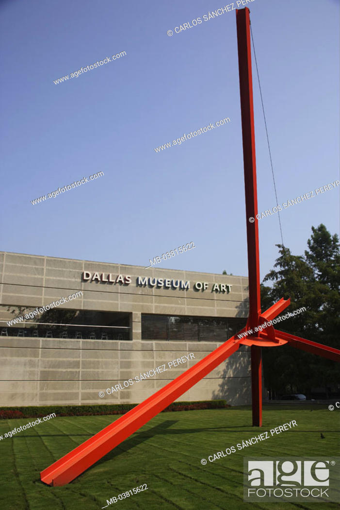 USA, Texas, Dallas, Downtown, Dallas museum of of type