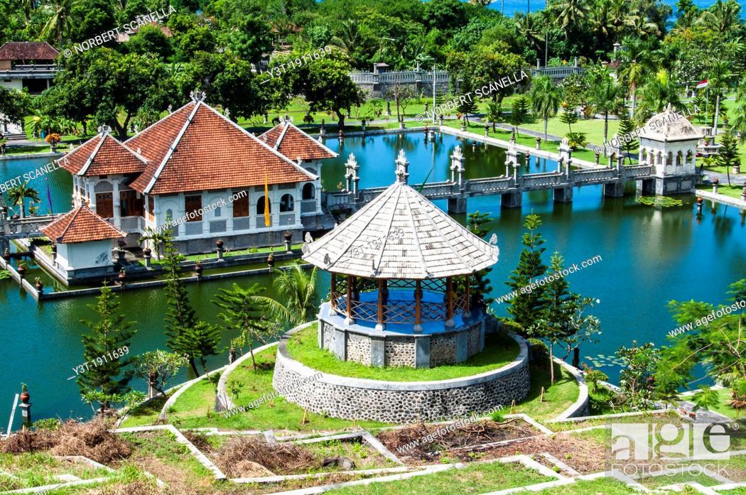 Asia South East Asia Indonesia Bali Water Palace Taman Ujung